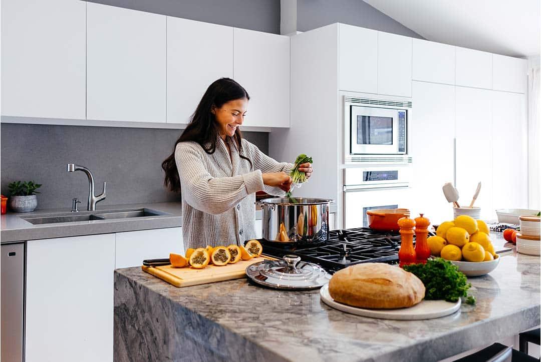 Cocinar para aprender a comer saludable