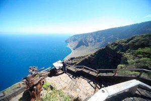 Mirador en El Hierro, Canarias