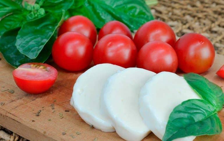 Tipos de Mozzarella y usos en la cocina