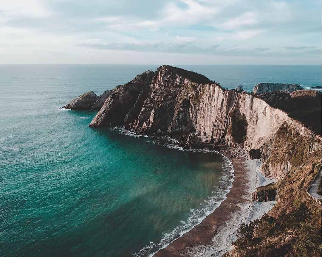 Playa del Silencio, Asturias