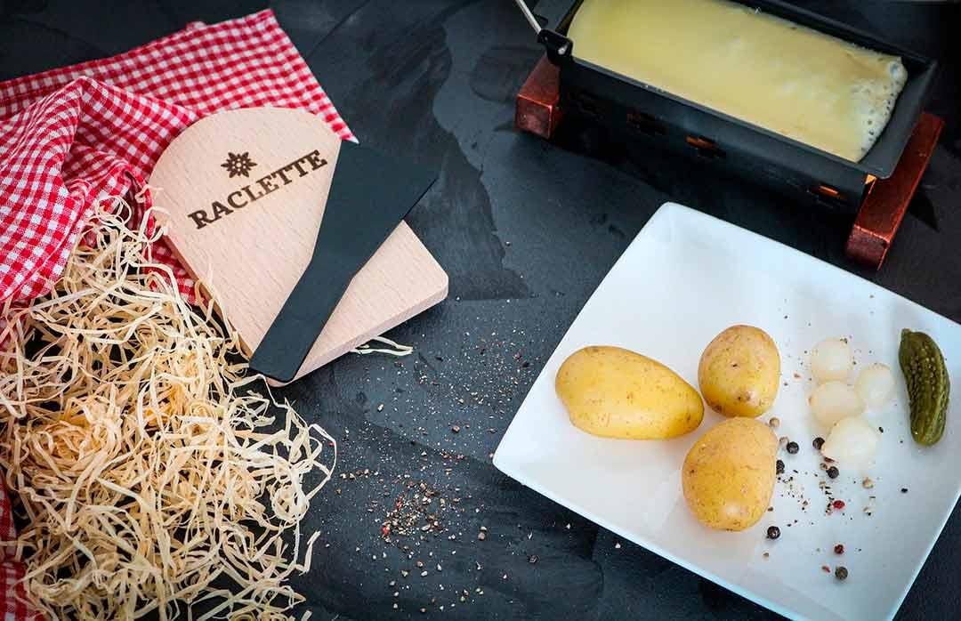 Ingredientes para la raclette