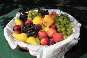 Frutas de temporada en septiembre