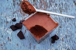 Mousse de chocolate, uno de los postres franceses