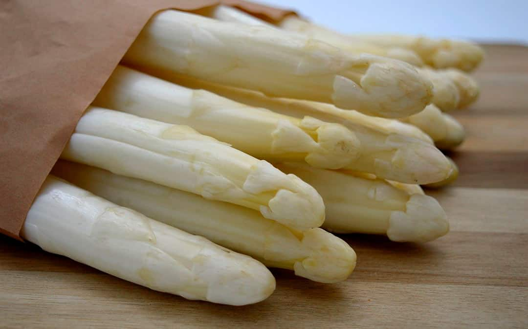 Espárragos blancos, IGP gastronomía navarra