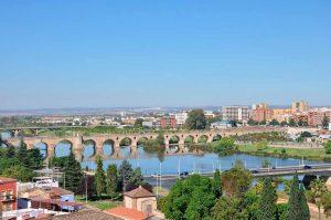Puente de Palma en Badajoz