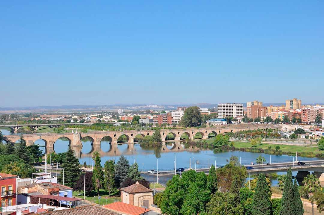 Puente de Palmas en Badajoz