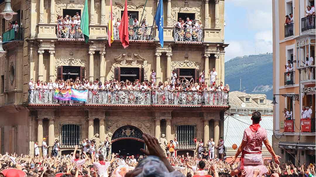 Fiesta de San Fermín en Pamplona