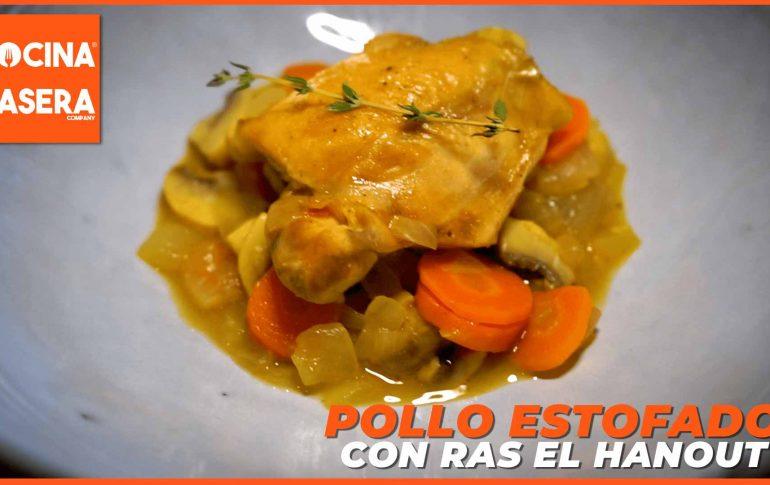 Pollo estofado con Ras al Hanout