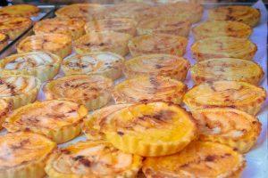 Pasteles de Belem, típicos de la gastronomía de Portugal