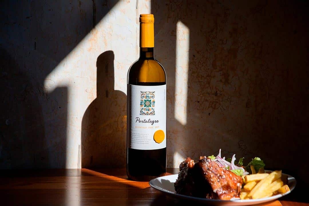 Vino típico de la gastronomía de Portugal