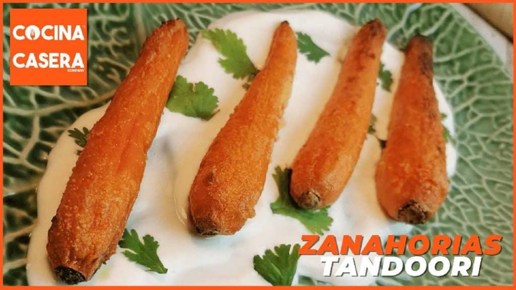 Zanahorias Tandoori