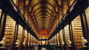 Biblioteca de la Universidad de Dublín