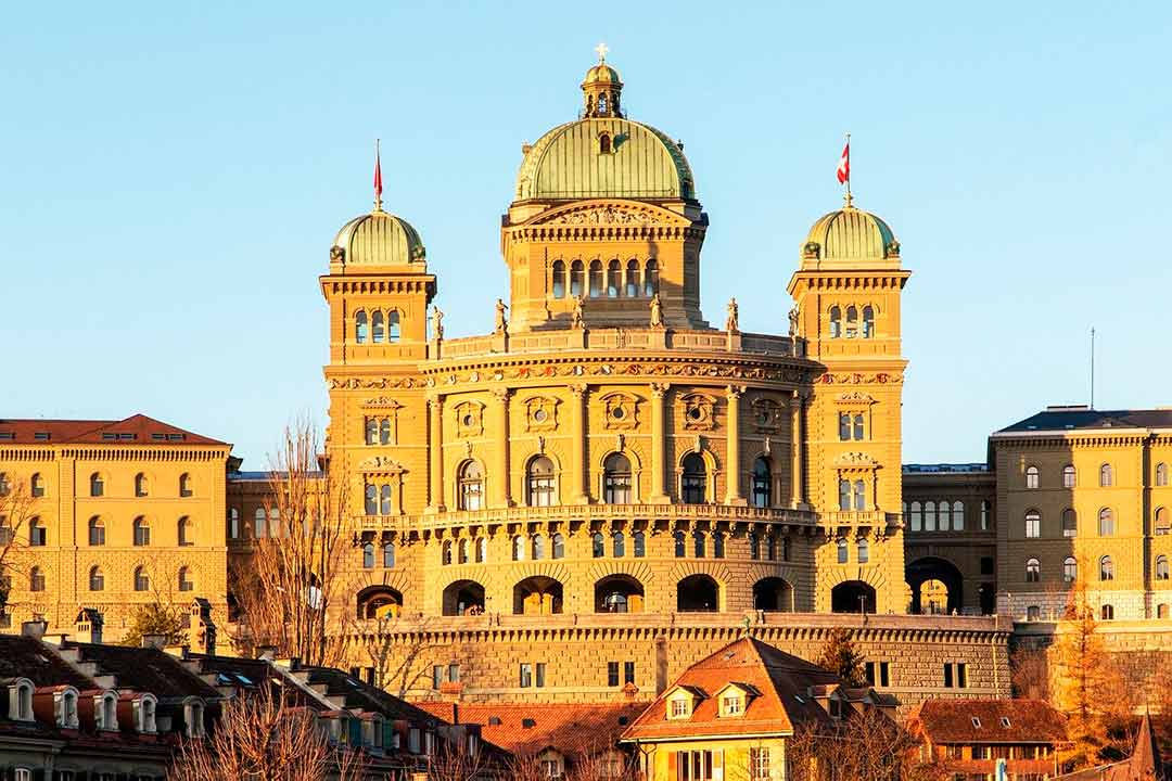 Bundeshaus, Parlamento de Berna