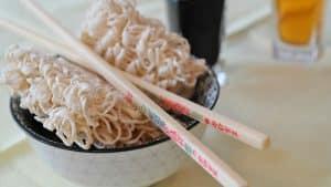 Fideos asiáticos de ramen