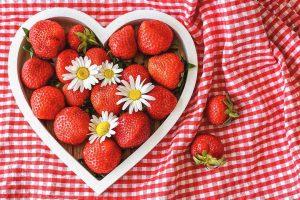 Fresas para aliviar la astenia primaveral