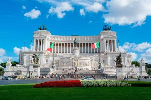Monumento a Victor Manuel II en Roma