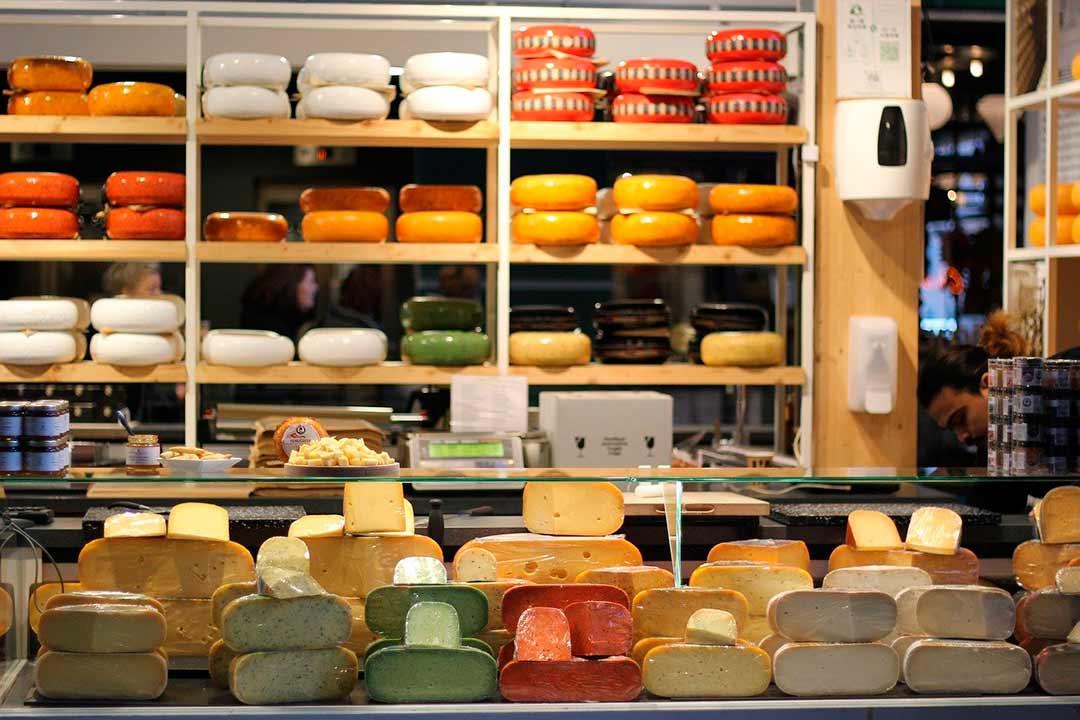 Quesos típicos de la gastronomía de Países Bajos