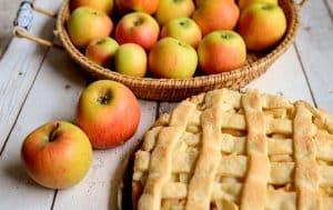 Tarta de manzana, postre típico de Dublín