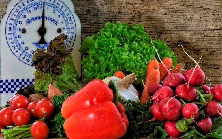 Verduras de temporada en primavera