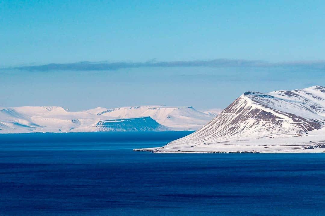 Longyearbyen en las Islas Svalbard