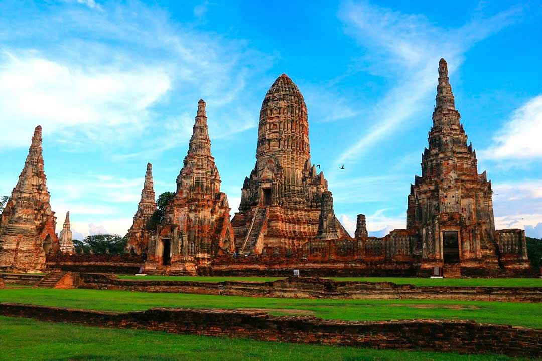 Antiguo templo en Ayutthaya