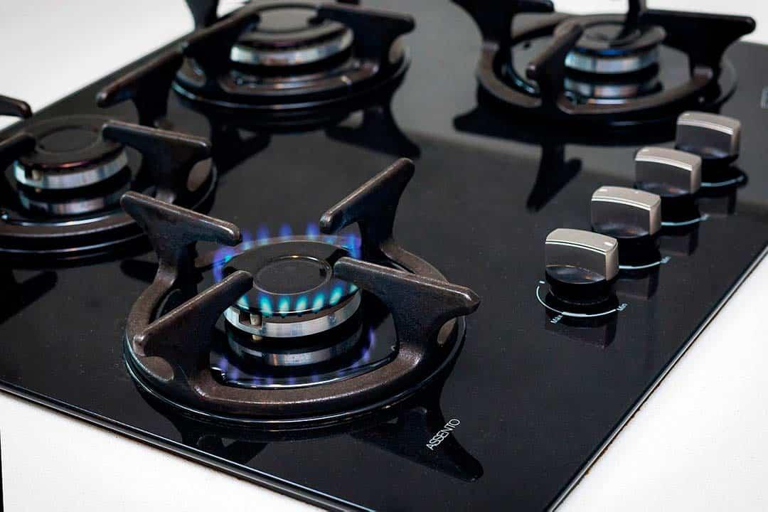 Cocina de gas, uno de los tipos de cocina actuales