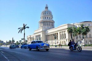 Capitolio de La Habana en Cuba