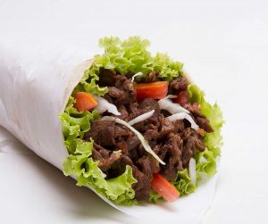 Kebab, plato típico para comer en Berlín
