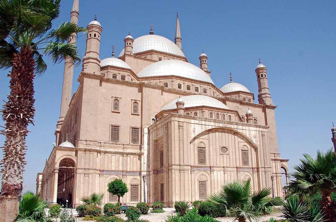 Mezquita de Alabastro en El Cairo, Egipto