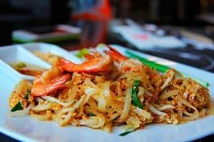 Pad Thai, comida tailandesa típica