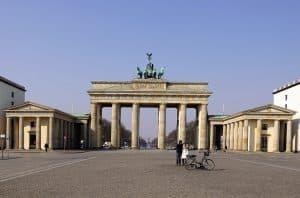 Purta de Brandenburgo en Berlín