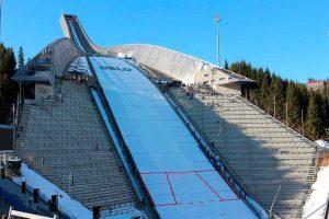 salto de esquí Holmenkollen en Oslo