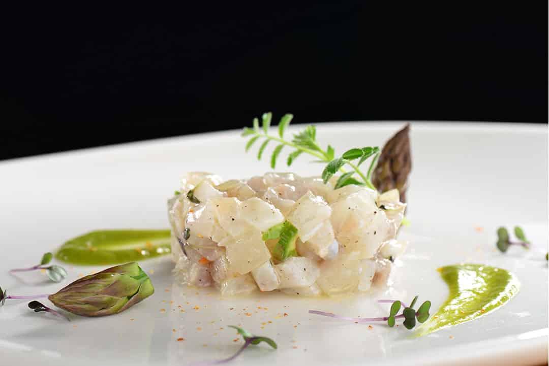 Tartar de lubina, algunos de los mejores pescados