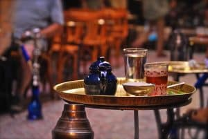 Té, bebida típica de la gastronomía de Egipto