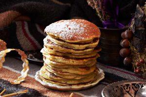 Tortitas, desayuno americano