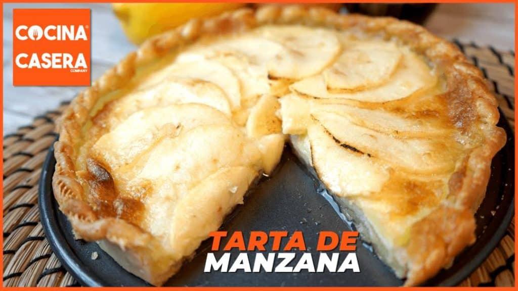 Tarta de manzana. Receta tradicional francesa