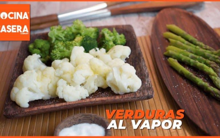 Cómo cocinar verduras al vapor