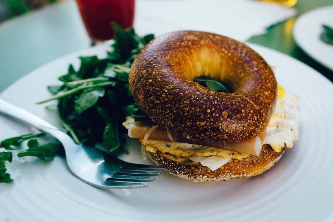 Bagel, desayuno del viaje gastronómico a Nueva York