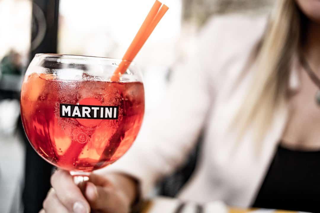 Copa de vermut Martini