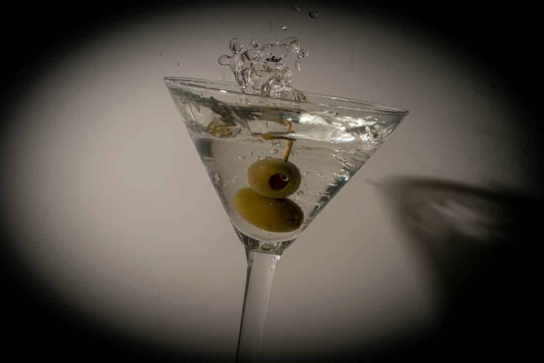 Dry Martini hecho con vermut