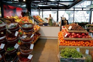 Fruta en un supermercado